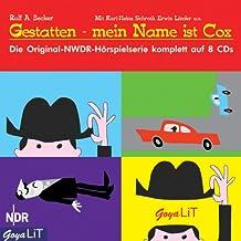 Gestatten, mein Name ist Cox! Die original-NWDR-Hörspielserie komplett auf  8 CDs