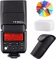 Godox TT350O 2.4G HSS 1/8000s TTL GN36kamera flaş Speedlite Olympus/Panasonic kompakt sistem fotoğraf makineleri için Eachs