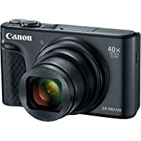 Canon PowerShot SX740 Digital Camera w/40x Optical Zoom and 3 Inch Tilt LCD - 4K Video, Wi-Fi, NFC, Bluetooth Enabled…