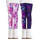 Adorel Leggins Térmicos Pantalones Forro Polar para Niñas