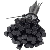 intervisio Collier de Serrage Grande Taille 430 mm x 4,8 mm, Attache Câble, Serre Câbles Grand Rilsan Nylon, Colliers…
