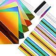 EHDIS Papier Vinyl Adhesif Holographique, 12 x 12 pouces, Vinyle Adhesif pour dans Les Travaux Manuels et La Décoration de La