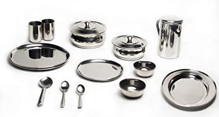 Quality Stainless Steel Dinner Set
