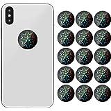16 Piezas Pegatinas de Teléfono Celular de Protección de Radiación Bloqueador EMF Pegatinas Protectoras Contra Radiación de D