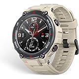 Amazfit T-Rex Smartwatch Pulsera Inteligente Reloj Deportativo Monitor de Sueño Notificación Llamada y Mensaje 5ATM GPS Diseñ