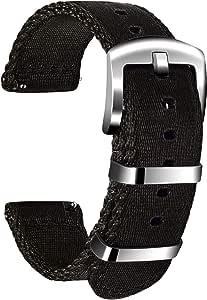Ullchro Nylon Cinturini Orologi Alta qualità Orologi Bracciale Militari Esercito - 18mm, 20mm, 22mm, 24mm Cinturino Orologio Fibbia Dell'acciaio Inossidabile