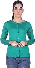 Ogarti Woman's Woolen Full Sleeve Cardigan