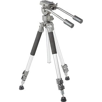 AmazonBasics - Treppiede per videocamera 170 cm, con custodia