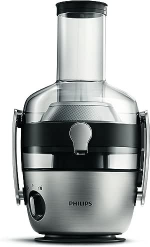 Philips HR1922/20 Entsafter, Styrol-Acrylnitril (SAN), 1.5 liters, Metallisch