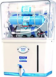 KENT Ace Plus 7-litres Wall Mountable RO+UF+TDS Controller (White and Blue) 15-Ltr/hr Water Purifier