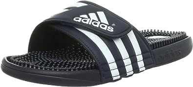 adidas Men Adissage Beach & Pool Shoes, Black/Black/FTWR White, 6 UK