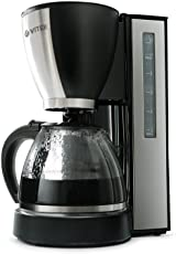 VITEK 870-Watt 12 Cups Drip Coffee Maker with Water Level Indicator(Black)