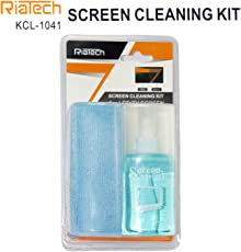 DAHSHA RiaTech 2 in 1 Screen Cleaning Kit Computers, Laptops, Mobiles, LCD, LED-TV Screens (150ml) kcl-1041