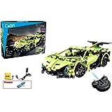 Coche de control remoto 2,4 GHz juego de construcción 453 ,Stem Toy, construcción técnica, RC Racing Car colección Engineerin