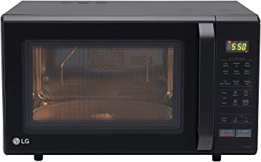 LG 28 L Convection Microwave Oven (MC2846BV, Black)