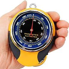 Höhenmesser Multifunktions Outdoor Camping Digital Höhenmesser mit Höhen Geschichte, Barometer, Kompass, Thermometer, Vorhersage