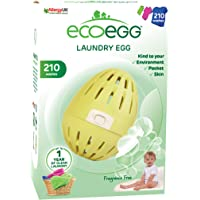 Ecoegg - Uovo da bucato (54 lavaggi), Fragrance Free, 210 Washes