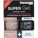 Rimmel Super Gel - Gel Color & Top Coat 2 X 12ml - 012 Soul Session