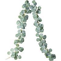 Plante artificielle d'eucalyptus, Artificiel Eucalyptus Guirlande Eucalyptus Feuilles, guirlande artificielle suspendue…