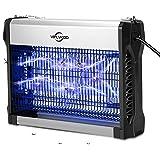 VIFLYKOO Lampe Anti-Moustique Électrique, 2500V Moustique Tueur Lampe, 20W UV Tueur d'Insectes Electrique, Piège à Moustiques