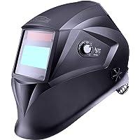 Casque de soudage,Tacklife PAH04D classe optique:1/1/1/1/avec 4 capteurs(Gamme d'ombre complète4/4-8/9-13)/pour plus des modes(TIG MIG MAG etc)/Sac de rangement le-6 Verres de protection