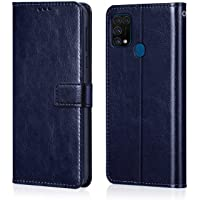 WOW Imagine Galaxy M31 Prime / M31 / F41 Flip Case | Leather Finish | Shock Proof Wallet with Card Pockets & Stand…