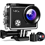 APEMAN Action Camera A77, 4K 20MP WiFi Sports for Vlog Underwater Cam Waterproof 30M with Remote Contro
