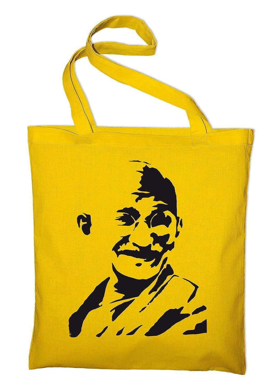 Mahatma Gandhi India Jute Bag Bag Bag Cotton Bag, GREEN (Green) -  styletex23bagandhi3: Amazon.co.uk: Luggage