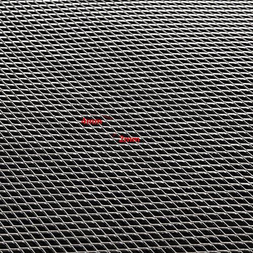 EsportsMJJ 25x20cm Aluminium Modellierdraht Mesh Groschbleche Fine/Medium/Thick - 4mm