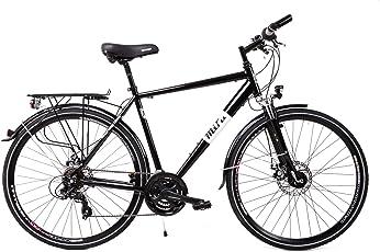 Unbekannt 28 Zoll Alu Herren Trekking Fahrrad Shimano 21 Gang Nabendynamo Scheibenbremsen