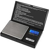 Reteck Zakweegschaal, 200 g/0,01 g, 200 x 0,01 g, digitale zakweegschaal, precisieweegschaal, goudweegschaal, muntenweegschaa