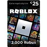 Carta Regalo Roblox - 2,000 Robux