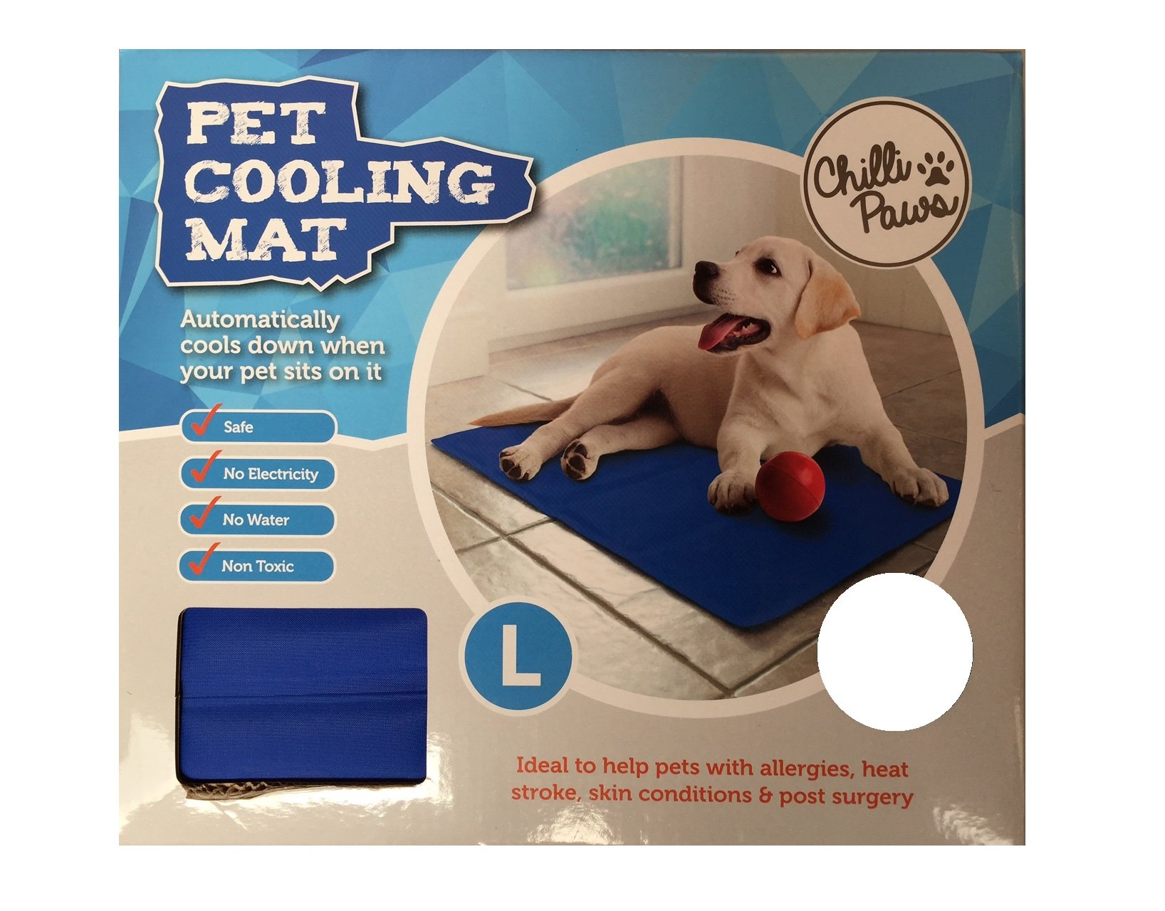 New The Pet Shop Cooling Mat For Dogs & Cats Dark Blue – Large 90 x 70cm