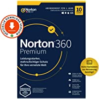 Norton 360 Premium 2020, 10-Geräte, Antivirus, Secure VPN unlimited, Passwort-Manager, PC/Mac/Android/iOS…