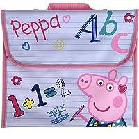 Girls Peppa Pig Primary School Reading Book Bag