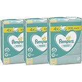 Pampers Sensitive Chusteczki 3 opakowania po 320 chusteczek = 960 chusteczek, bezzapachowe, do delikatnego oczyszczania