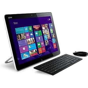 Sony Vaio - Tablet de 20 pulgadas (Windows 8, 4 GB), color blanco (importado de Francia)