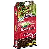Cuxin Bio Tomatenerde 20-80 l ● Erde für Tomaten und Gemüse mit 100 Tage Dünger ● für gesunde und kräftige Pflanzen (20l)