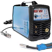 IPOTOOLS MIG-185SYN Inverter Schweißgerät MIG MAG - Schutzgas Schweissgerät mit 185 Ampere/Synergic Funktion/Fülldraht…