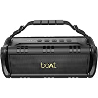 boAt Stone 1400 Bluetooth Speaker with 30W Loud Audio, Twin EQ Modes, Up to 7H Playtime, Type-C Charging, Multiple Connectivity Modes, TWS Feature, IPX5 Water Resistance & Carry Strap (Active Black)