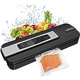Macchina Sottovuoto per Alimenti, Wancle Sigillatore sottovuoto macchina per alimenti freschi sia secchi che umidi con 10 Sac
