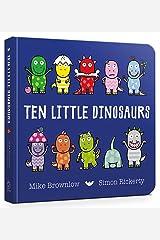 Ten Little Dinosaurs Board Book Board book