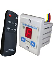 Rectus Enterprises Plastic Digital Wireless Remote Fan Regulator, 4.0x4.0x6.0cm (SR101, Multicolour)