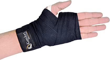 Boxing Hand Wraps Bandages Martial Art Wrist Fist Wraps MMA Under-Boxing Glove Protective Gear Prevent Injury- Size- 3.5 Meter & 2.5 Meter
