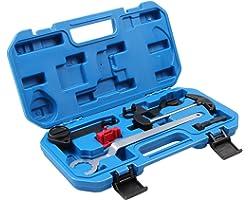 LLCTOOLS Herramienta de ajuste del motor correa dentada compatible con motores 1.0 MPi 1.2 1.4 TSI