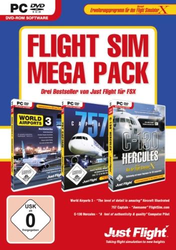 Preisvergleich Produktbild Flight Simulator X - Flight Sim Mega Pack