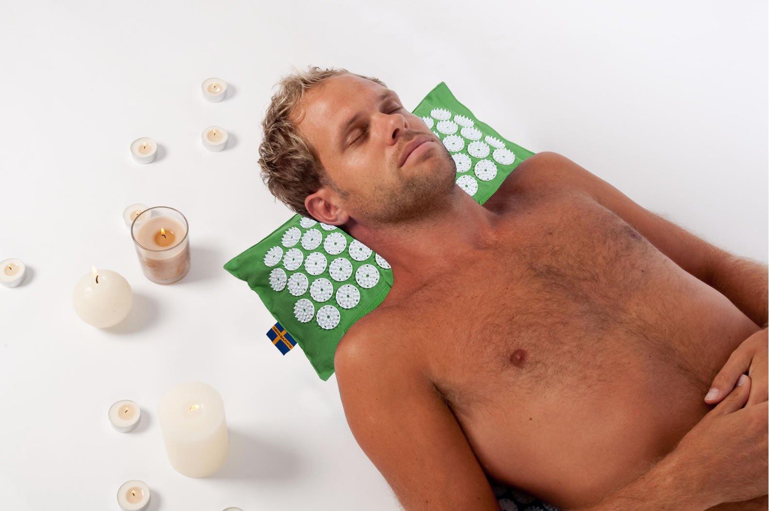 Cuscino Per La Cervicale Mysa.Termo Cuscino Per La Cervicale Mysa Con Micropunte Per Agopressione Il Miglior Cuscino Per Cervicalgia Al Mondo Scaldabile Con Pula Di Farro Bio