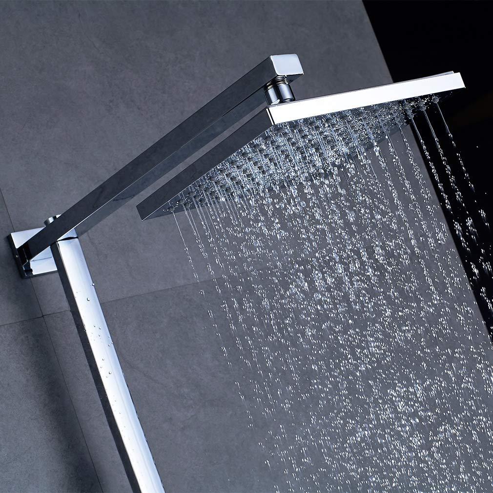 Panel de ducha kaibor columna de ducha en acero inoxidable grifo monomando equip/é ducha de mano con 4/V/ías de agua multi-fonctionnel System conjunto con pantalla grifo para cuarto de ba/ño