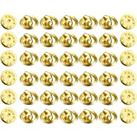UCLEVER 200 Pezzi Farfalla Frizione per Gioielli Spille Mestiere Badge Scrapbook Artigianato e Creazione di Gioielli