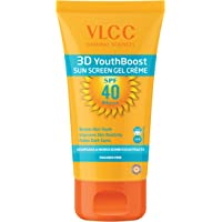 VLCC 3D Youth Boost Sunscreen Gel Creme, SPF40 PA +++, 100g